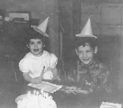 Sometimes the party hats looked like upside down ice cream cones