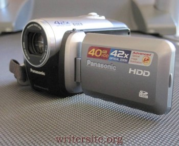 "Why is the story called ""Still Photo"" if the photo is of a camcorder?"