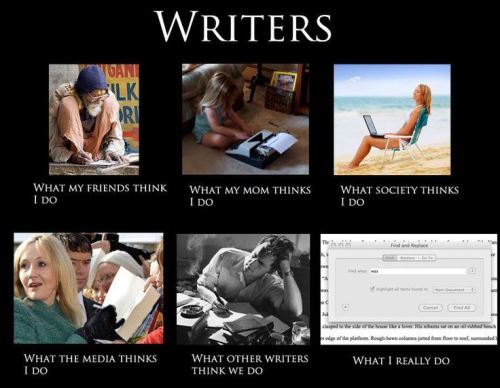Writers meme