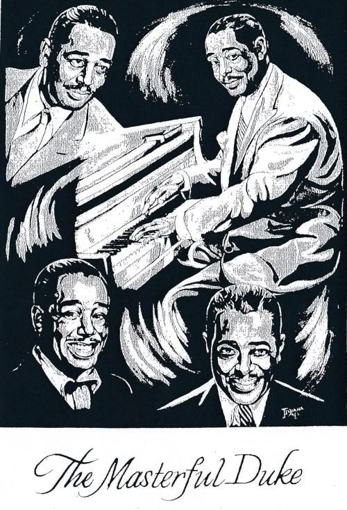 "Duke Ellington from ""The Birdland Story"" Mural by Diana Dale"