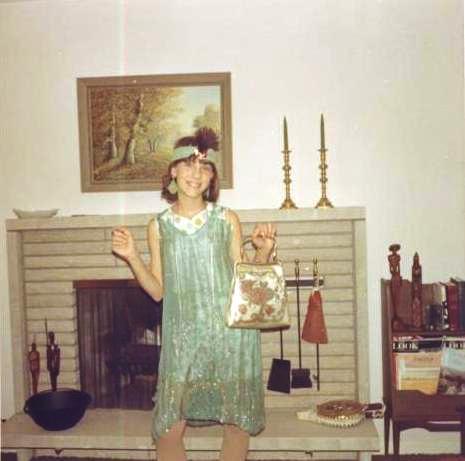 Luanne Oct 31, 1967 last Halloween treat or treatTherese dress